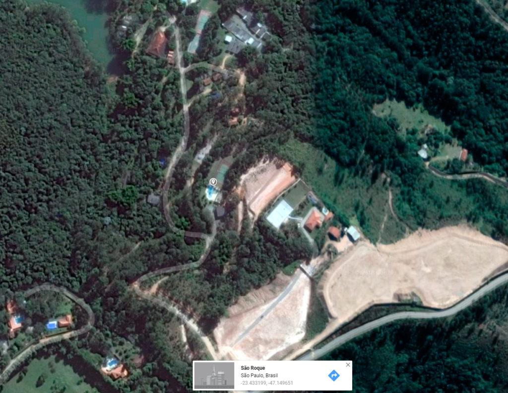 Bambu CRC Google Maps Vista Aérea